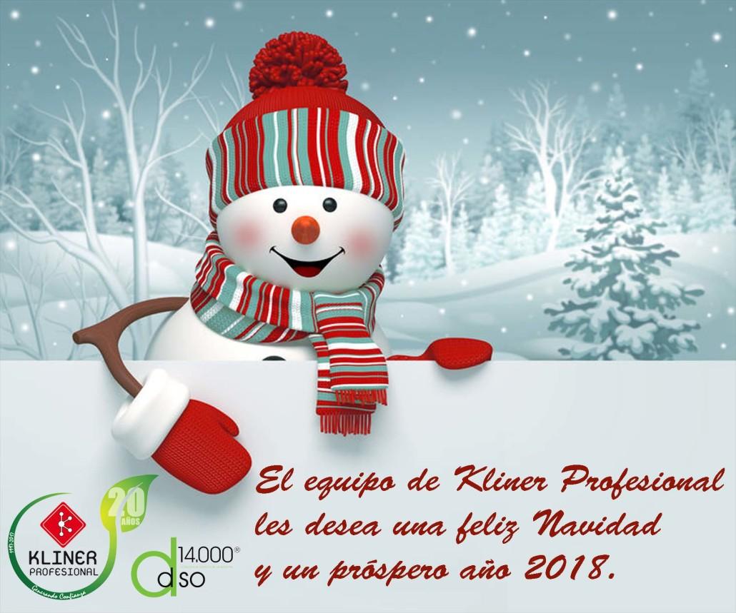 Fotos Profesionales De Navidad.Feliz Navidad Y Prospero Ano 2018 Kliner Profesional